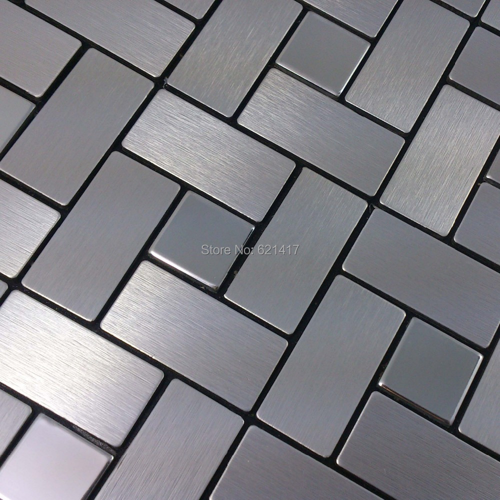 online get cheap mirror kitchen backsplash aliexpress com metal mirror aluminum self adhesive mosaic tiles for kitchen backsplash decoration tiles hmsm1016 china