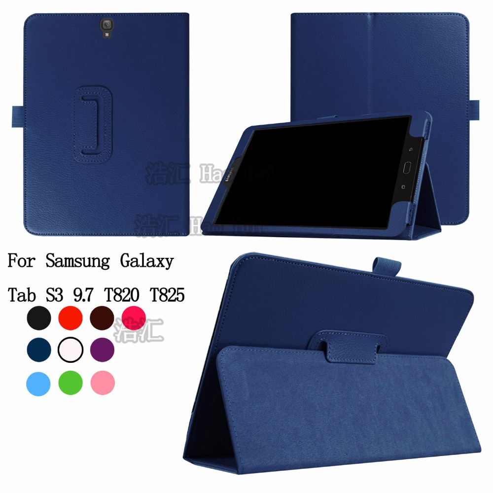 For For Samsung Galaxy Tab S3 T820 T825 PU Leather Smart Case Retina Stand Sleep Wake UP Tablet Cover+ Stylus Gift 2014 for samsung galaxy note 8 0 n5100 n5110 book cover ultra slim thin business smart pu leather stand folding case