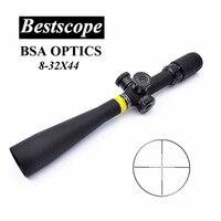 BSA OPTICS 8-32X44 Caccia Scopes Tactical Air Rifle Ambito Lunghi Eye Relief Cannocchiale Glass Reticolo Sniper Riflescope di Caccia