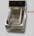 220В электрическая однобаковая жарочная печь 6л емкость для KFC картофеля фри курицы