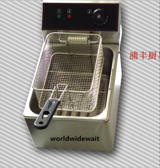 220V Electrical Single-tank Frying Oven 6L Capacity For KFC French Fries Chicken пуф french fries