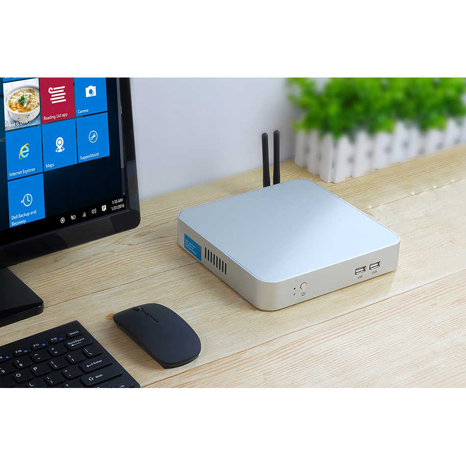 Mini pc intel core i7 4500u 7500u i5 7200u i3 4010u windows 10 ddr3l ram msata ssd hdmi vga wifi gigabit ethernet 6xusb 4k htpc