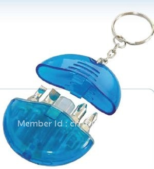 Promotion! gift mini screwdriver keychain free shipping