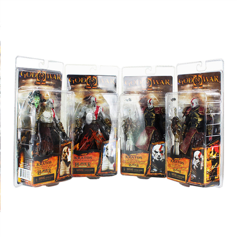 5 Styles 20cm NECA Kratos God War Armor Heros Kratos Ghost of Sparta PVC Action Figure Collection Model Toys Dolls play arts kai god of war 3 kratos ghost of sparta pa 28cm pvc action figure doll toys kids gift brinquedos free shipping kb0329