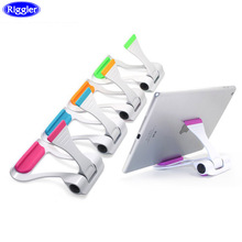 Desk Adjustable Cellphone Holder Riggler Mobile Phone Bracket Univesal for phone Ipad Table Stand