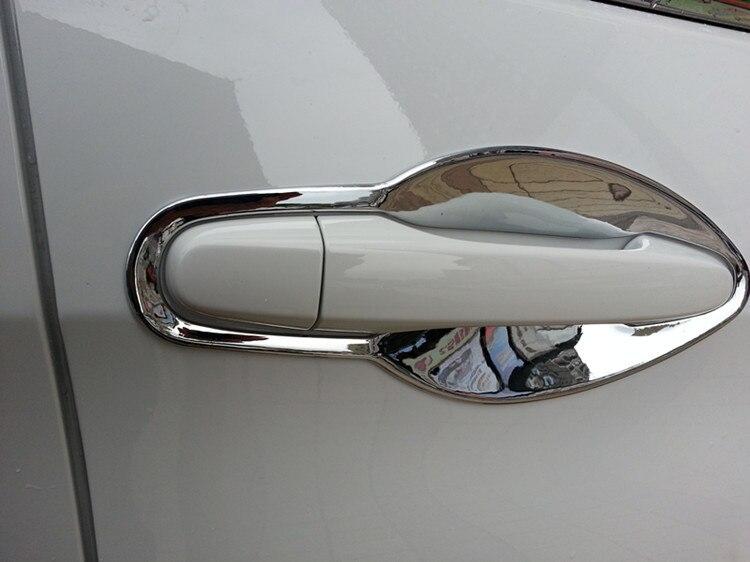 Door Handle Bowl Covers 4pcs ABS For Honda CRV 2012 2013 2014 2015 exterior 4pcs abs chromed lower door
