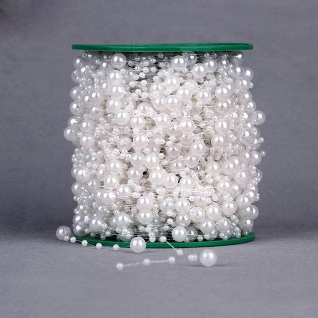5 Metri Artificiale Perle Perline Catena Garland Fiori FAI DA TE Favore della Fe