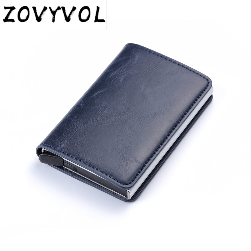 ZOVYVOL  Rfid Wallet Credit Card Holder Sticker Business Card Pocket Cash Card Holder Passes Holder Metal Cardholder Protection