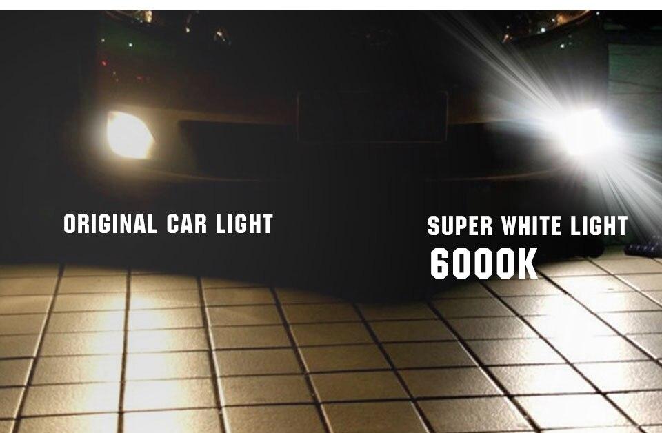 55W 100W Car Light H1 H3 H4 H7 H8 H9 H11 9005 HB3 9006 HB4 Auto Halogen Lamp Bulb Fog Lights 12V 6000K 3000K Headlights Lamp (12)