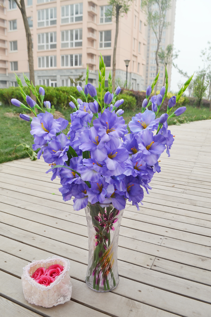 Purple gladiolus bouquet pixshark images