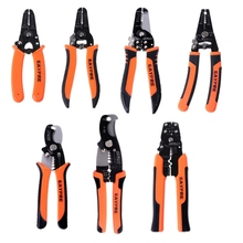 Multifunctional Cable Wire Stripper Cutter Crimper Cutting Pliers Handle Tools