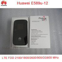 Unlocked Huawei E589 LTE 4g Wifi Router 3g 4g Wifi Dongle 4g Wireless Router E589u 12