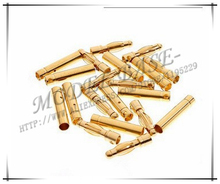 20pairs/lot 4.0mm Gold Bullet Connector Battery ESC Plug for RC helicopter car boat