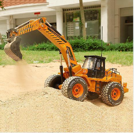 66cm 1:8  scale  remote control construction trucks rc truck electric rc excavator  6WD