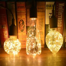 Creative Edison Light Bulb Vintage Decoration LED Filament lamp Copper Wire String E27 110V 220V Replace Incandescent Bulbs(China)