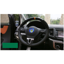 lsrtw2017 car styling steering wheel ring for volkswagen vw sharan 2011 2012 2013 2014 2015 2016 2017 2018