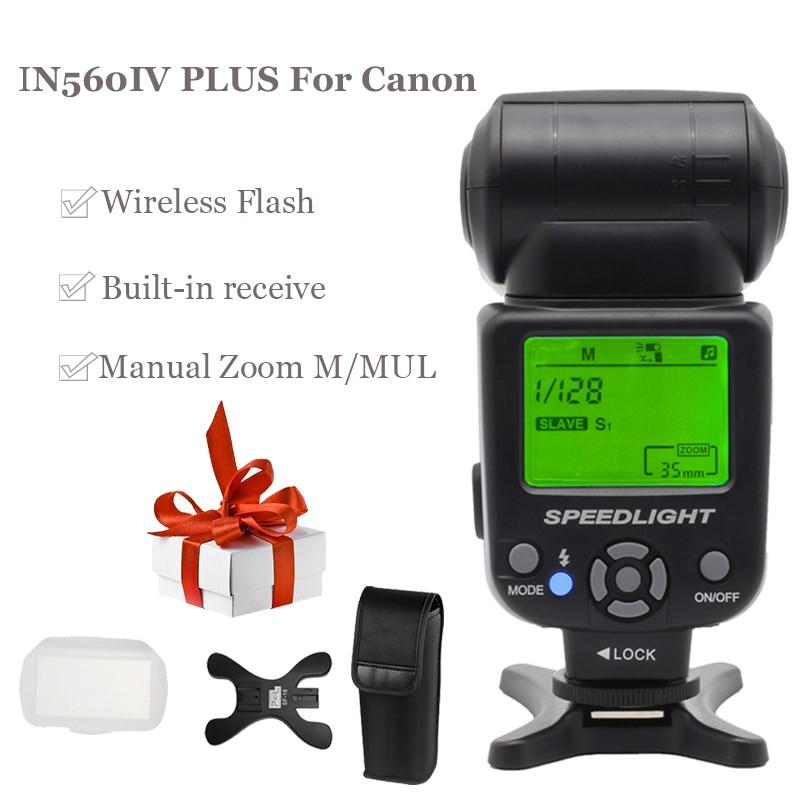 InseSI IN-560IV IN560IV PLUS & PIXEL M8 LCD FlashLight Bezdrátový - Videokamery a fotoaparáty - Fotografie 2
