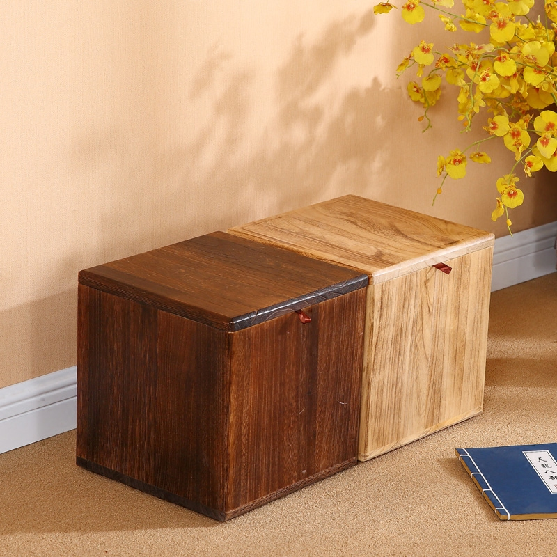 Living Room Table With Stools: 15%All Solid Wood Shoes Stool Fashion Shoes Bench Creative