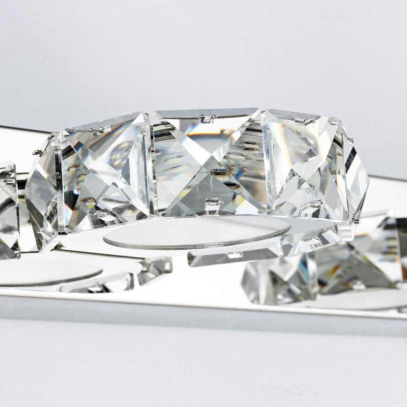 Современная спальня фойе 16 см настенный светильник 110 V 220 V 3 W led кристалл украшения ванной бра