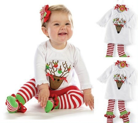 Christmas Pajamas For Children - Christmas Decor And Lights