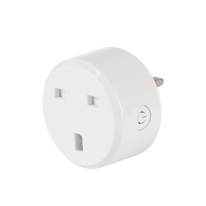 WIFI Smart Plug UK Stardard Smart Socket 10A Wireless Wifi Smart Socket Outlet APP Control Function Plug