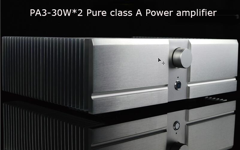 PA3-30W*2 Pure class A Power amplifier Based on PASS A3 circuit power amplifier