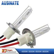 2 шт 100 Вт H7 ксеноновая лампа H1 H3 H4 H11 9005 9006 автомобильный светильник лампа 4300 К 5000 К 6000 К 8000 К Высокая мощность HID Замена лампы