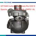 Turbo части GT1544V электрический турбокомпрессор нагнетателем 28201-2A100 28201-2A400 Для Kia Cerato Рио Spectra CEE'D 1.5/1.6L