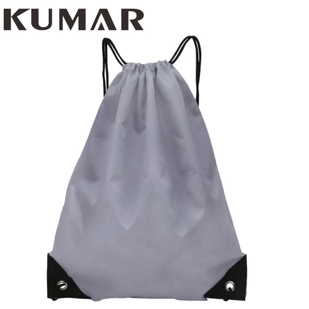 Fashion Unisex Solid Drawstring Storage Bag Basketball Football Bag Men Drawstring Backpack Shoulder Volleyball Bag Knapsacks