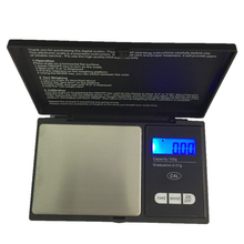 Precision100g 0.01g Mini Pocket Kitchen Scale Notebook Shape LCD Electronic Jewelry Weighting Scales Coffee Floor Balance Weight