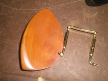 1 PC of Jujube WOOD Violin Chin rest with Chin rest screw all in 4/4 without chin rest holes