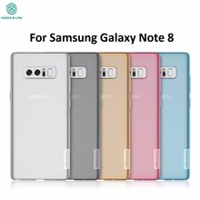 Cover For Samsung Galaxy Note 8 Case For Samsung Galaxy Note 8 Note8 Nillkin Nature TPU Soft case Transparent Clear Back Cover