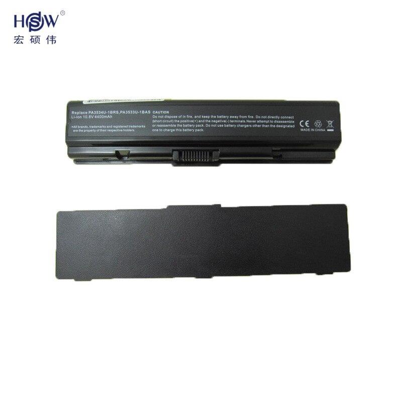 6CELL PA3534U-1BRS PA3533U-1BRS Laptop Battery 5200mAh For Toshiba Satellite A200 A205 A210 A215 A300 L300 M200 bateria akku