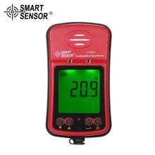 все цены на SMART SENSOR mini Combustible Gas Detector Industrial Digital Automotive Gas Leak Tester Gas Sniffer Sound Light Vibration Alarm онлайн