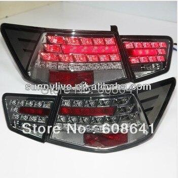 Для KIA Cerato Forte LED задний фонарь черного цвета 2009 11 Super Lux