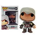 Assassins Creed Ezio 21 # Jogos Funko POP Vinyl Action Figure Modelo Coleção Toy Presente para Crianças Venda Quente