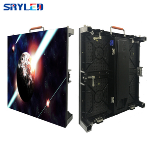 Image 1 - جديد 500*500 مللي متر خزانة p3.91 داخلي led تأجير شاشة عرض led شاشة ألومنيوم السبك بالقوالب خزانة فيديو إعلانات جدار