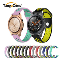 Fashion Silicon Gel Watch Strap for Samsung Galaxy Watch 46mm Band Belt Wristband Smart Bracelet Replacement 42mm
