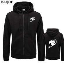 Fairy Tail Sweatshirts Zipper Hoodie