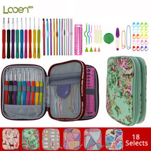 Looen Crochet Hooks Set Cut Animal Ergonomic Yarns Knitting Needle Scissors Sewing Accessories DIY Arts Craft