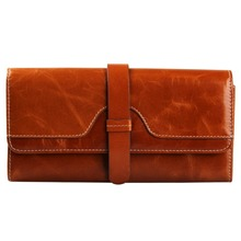 veevanv Hot  High Quality Lady Woman Wallet Genuine Leather Purses Fashion Design Button Clutch Purse Lady Woman Long Wallets