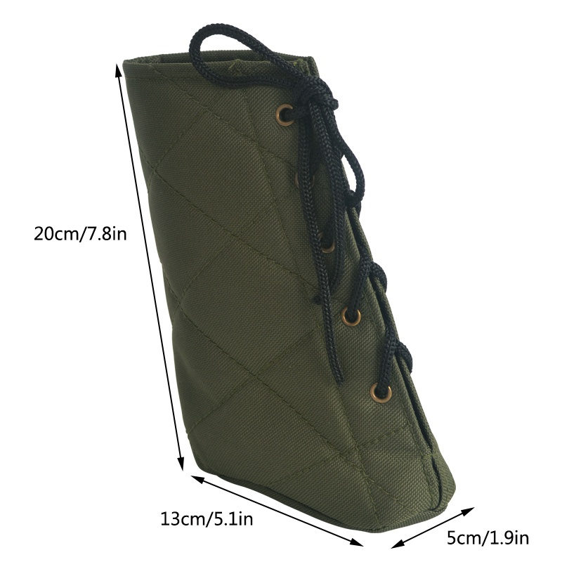 Image 3 - New Arrival Outdoor Tactical Buffer Suitable For Varieties of Shoting Butts Hunting Rifle Oxford Cloth Protective Cover im-in Holsters from Sports & Entertainment