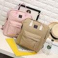 2016 Women Canvas Backpack Kawaii Cute Solid Cloud  Backpacks Women's Travel Bags Mochila Rucksack Shoulder Bag School Bag