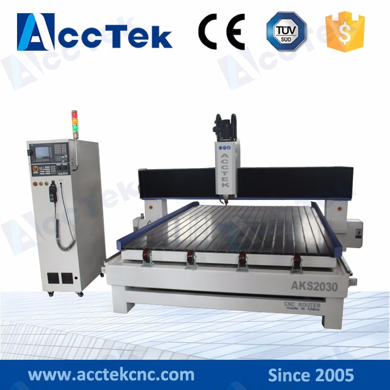 stone engraving woodworking cnc engraver machine AKS2030/price stone engraving router cnc on sale