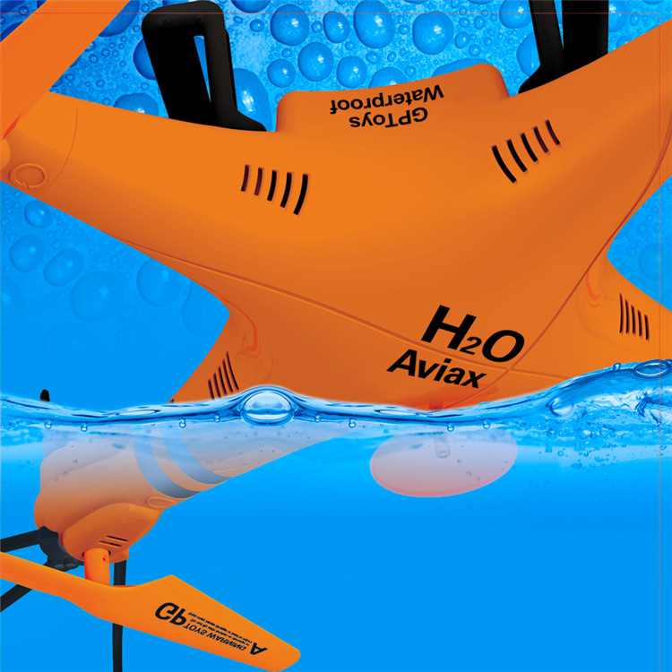 Waterproof Aviax Headless Cruise Control drones 2.4G 4CH RC Quadcopter 360 Degree Rotation professional quadrocopter 1
