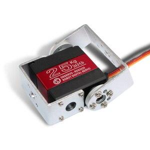 Image 3 - 1X Roboter servo 25kg RDS3225 metall getriebe digital servo arduino servo mit Lange und Kurze Gerade U Mouting