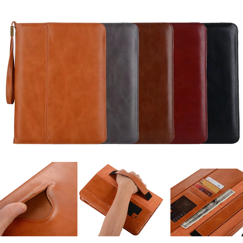 Luxury Retro Flip Book PU Leather Case For apple ipad mini 1 2 3 4 Magnetic Stand Smart Cover For iPad mini2 mini3 mini4 tablet