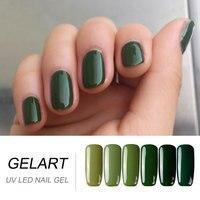 Mùa xuân Green & Loạt Màu Xanh Nail Gel Dễ Dàng Sấy Khô bằng UV LED Đèn (chọn bất kỳ 2 màu sắc, có thể nhận được 2 nail tập tin)