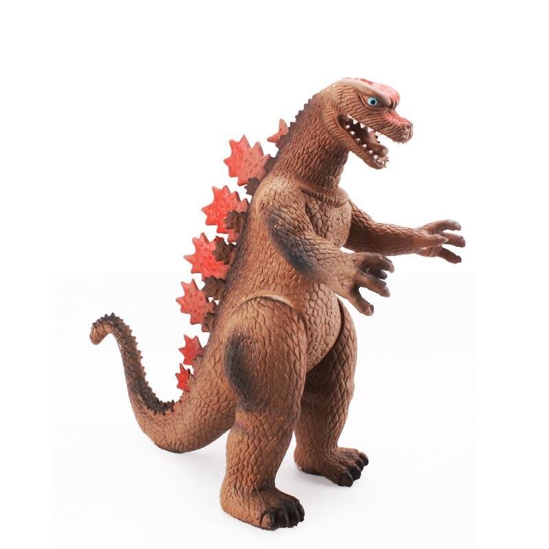 Children simulation animation toy large 12 inch Godzilla monster dinosaur toy model to give children the best gift pvc figure animal simulation model children toy zoo animalsbacking large chimpanzee monkey baboon diamond gift 6monkeys 2trees