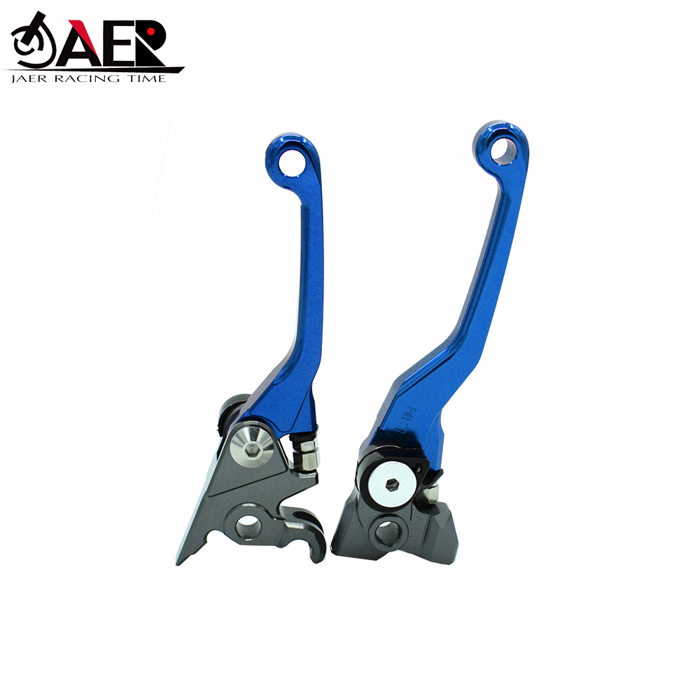 Image 3 - JAER CNC Billet Pivot Foldable Brake Clutch Levers For Kawasaki KLX250 D TRACKER 1993 1994 1995 1996 1997-in Levers, Ropes & Cables from Automobiles & Motorcycles